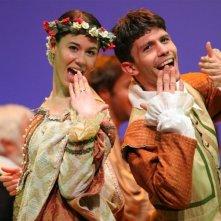 Claudiafederica Petrella in scena con I compromessi sposi
