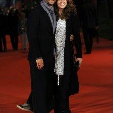 Festival di Roma 2009 : Raoul Bova e sua moglie Chiara Giordano
