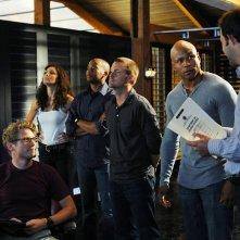 La squadra a lavoro nell'episodio Killshot di NCIS: Los Angeles