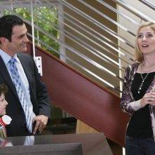 Modern Family: Nolan Gould, Ty Burrell ed Amy Landers nell'episodio En Garde
