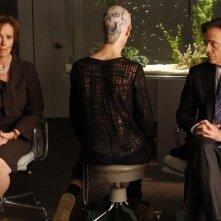Nip/Tuck: Joan McMurtrey, Parker Croft e Todd Waring in un momento della stagione 6