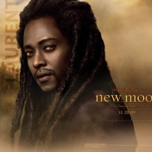 Un wallpaper dedicato al personaggio di Laurent (Edi Gathegi) per il film Twilight Saga: New Moon