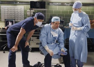 Grey's Anatomy: Eric Dane, Patrick Dempsey e Chyler Leigh nell'episodio Give Peace a Chance