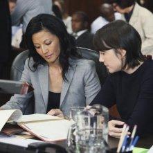 Private Practice: Tamlyn Tomita ed Amanda Foreman nell'episodio Strange Bedfellows