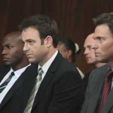 Private Practice: Taye Diggs, Paul Adelstein e Tim Daly nell'episodio Strange Bedfellows