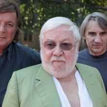 Adriano Panatta, Mimmo Calopresti e Paolo Villaggio nel documentario La maglietta rossa