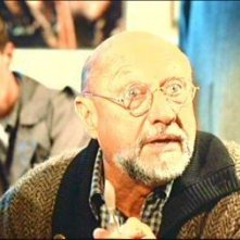 Donald Pleasence in una scena del film Phenomena ( 1985 )