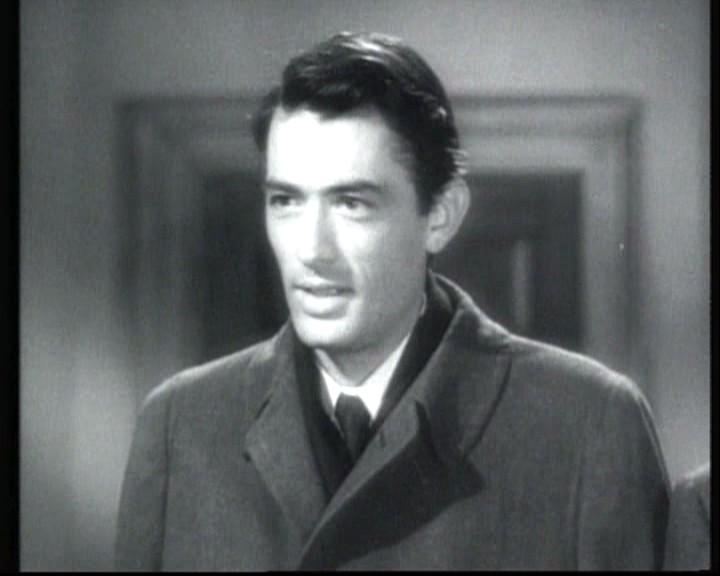 Gregory Peck In Una Scena Del Film Io Ti Salvero 1945 135709
