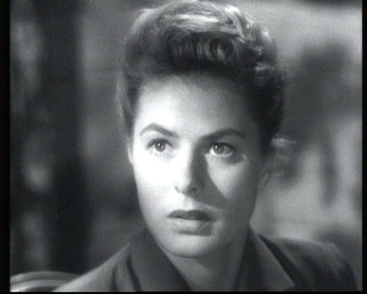 Ingrid Bergman In Una Scena Del Film Io Ti Salvero 1945 135710