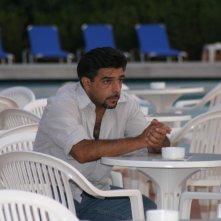 Una foto di Ignazio Barcellona sul set