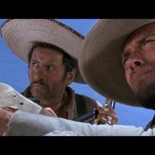 Una scena tratta dal blu-ray de Il buono, il brutto, il cattivo