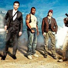 La prima foto ufficiale con l'A-Team al completo