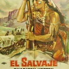 La locandina di Il giuramento dei Sioux