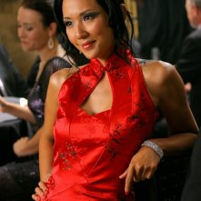 Veronica Sinclair (Steph Song) in un momento dell'episodio Roulette di Smallville