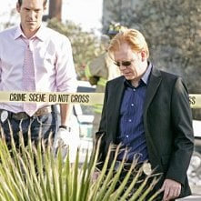 CSI Miami: Eddie Cibrian e David Caruso nell'episodio Point of Impact