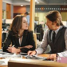 The Good Wife: Julianna Margulies e Chris Bowers nell'episodio Unorthodox