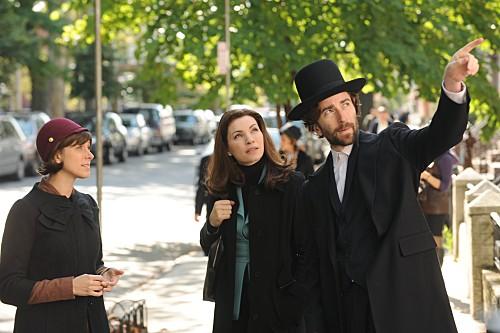 The Good Wife Julianna Margulies Natalie Gold E Daniel London Nell Episodio Unorthodox 136062