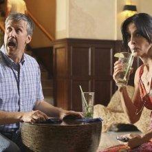 Cougar Town: Alan Ruck e Courteney Cox nell'episodio Two Gunslingers