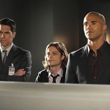 Criminal Minds: Thomas Gibson, Matthew Gray Gubler e Shemar Moore nell'episodio Shemar Moore