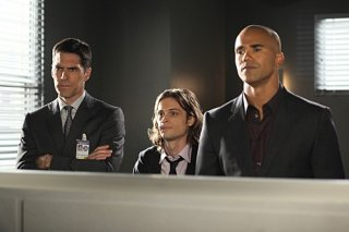 Criminal Minds: Thomas Gibson, Matthew Gray Gubler e Shemar Moore nell'episodio Shemar Moore
