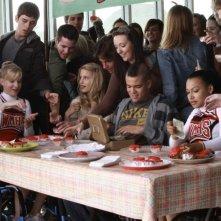 Glee: una scena dell'episodio Wheels