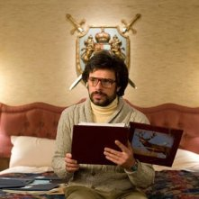 Jemaine Clement in una scena del film Gentlemen Broncos