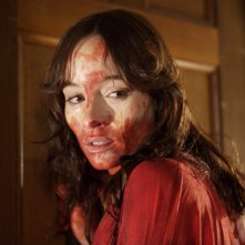 Jocelin Donahue in un'immagine del film The House of the Devil
