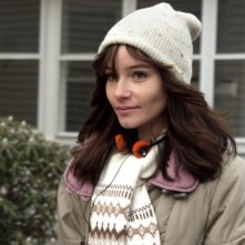 Jocelin Donahue in una scena del film The House of the Devil