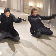 Norman Reedus e Sean Patrick Flanery in una scena del film The Boondock Saints II: All Saints Day