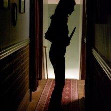 Una scena del film horror The House of the Devil