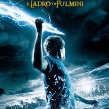 La locandina italiana di Percy Jackson e gli dei dell'Olimpo: Il ladro di fulmini