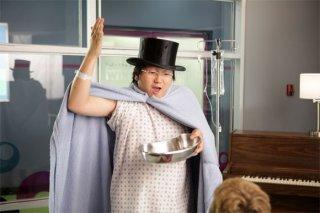 Masi Oka in una scena di Tabula Rasa, dalla quarta stagione di Heroes