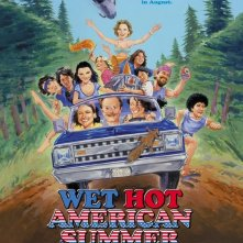 La locandina di Wet Hot American Summer