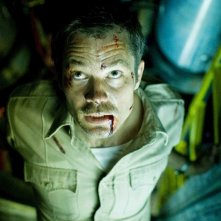 Timothy Olyphant è David nel film The Crazies