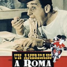 Locandina di Un americano a Roma