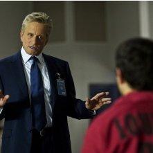 Michael Douglas in una scena del film Un alibi perfetto, del 2009