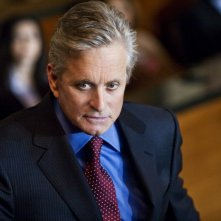 Michael Douglas in una sequenza del legal thriller Un alibi perfetto.