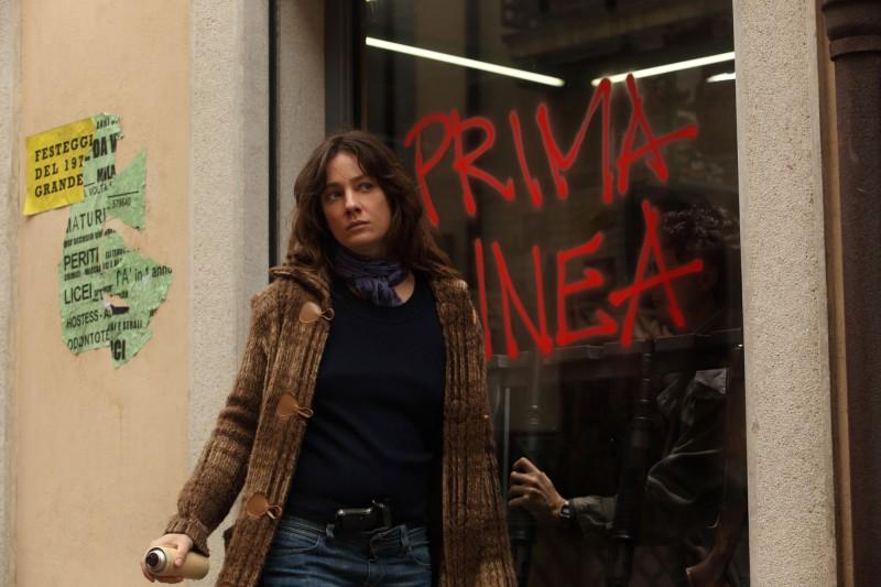 Giovanna Mezzogiorno In Una Sequenza Drammatica Del Film La Prima Linea 136873