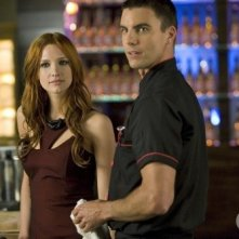 Melrose Place: Ashlee Simpson-Wentz e Colin Egglesfield nell'episodio Gower