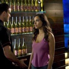 Melrose Place: Jessica Lucas e Colin Egglesfield nell'episodio Gower