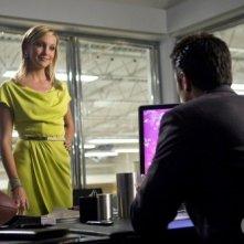 Melrose Place: Katie Cassidy e Michael Rady in un momento dell'episodio Ocean