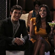 Melrose Place: Michael Rady e Jessica Lucas nell'episodio Canon