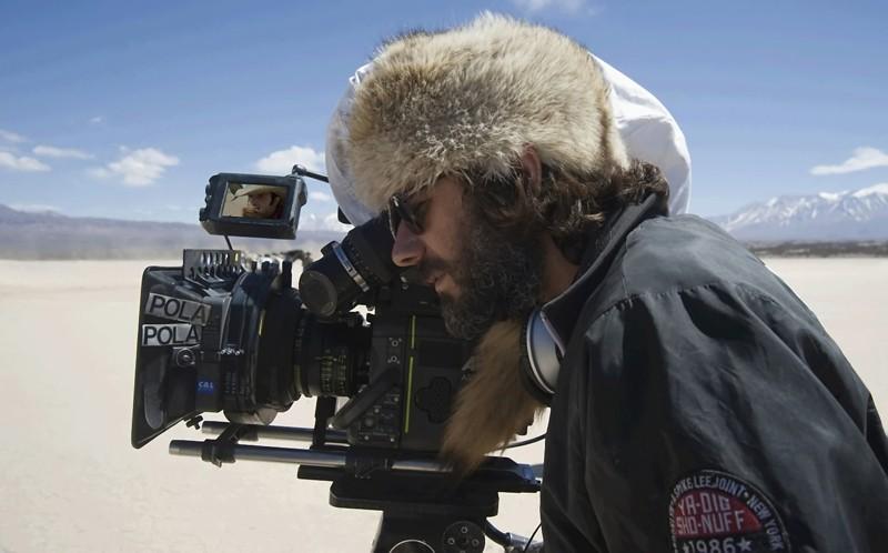 James Huth Durante Le Riprese Del Film Lucky Luke 137160