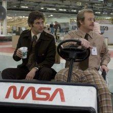 James Marsden e Kevin Robertson in una drammatica scena di The Box, di Richard Kelly