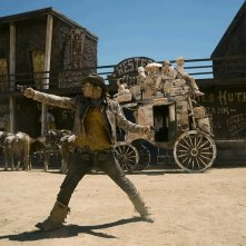 Michaël Youn è Billy The Kid nel film Lucky Luke