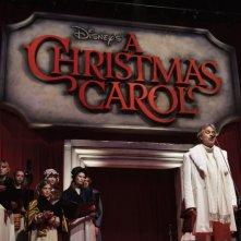 Andrea Bocelli canta in occasione della premiere di A Christmas Carol a Londra