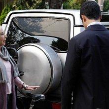 Cold Case: Kathryn Morris e Danny Pino in una scena dell'episodio WASP
