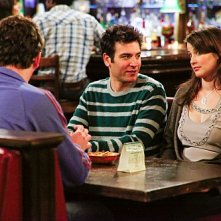 How I Met Your Mother: Jason Segel, Josh Radnor e Cobie Smulders nell'episodio The Playbook