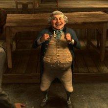 Mr. Fezziwig (doppiato da Bob Hoskins) nel film A Christmas Carol (2009) di Robert Zemeckis