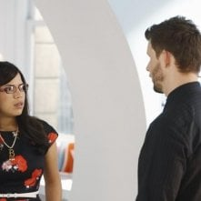 Ugly Betty: Eric Mabius ed America Ferrera nell'episodio Plus None